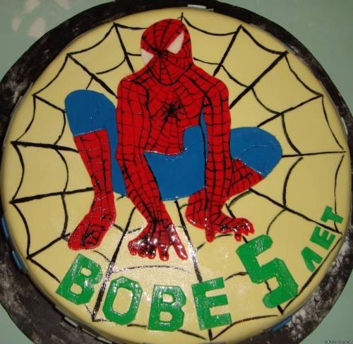 Рисунок на торте торты масляные